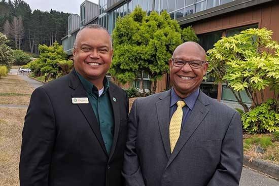 Partnering with College of the Redwoods. Thank you President Flamer!
