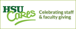 HSU Cares - Celebrating staff and faculty giving